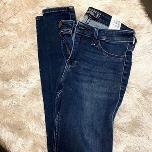 Abercrombie and Fitch Harper Low Rise Jegging
